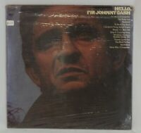 Hello, I'm Johnny Cash Vinyl Record Album LP Vintage KCS 9943 Columbia VG Vinyl