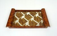 ELEGANT VERY RARE ORIGINAL FRENCH AVANTGARDE ART DECO COCKTAIL TRAY 1930