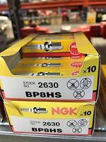 7 x NGK SPARK PLUG Part Number BP8HS Stock No. 2630