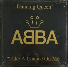 """ABBA Dancing Queen/Take A Chance On Me 12"""" Single IN SHRINK 1992 Vinyl"""