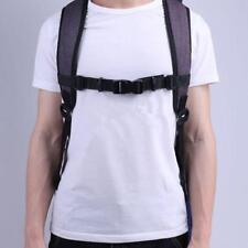 Adjustable Bag Backpack Webbing Sternum Chest Harness Buckle Clip Strap NEW LD