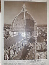 Photo article Lantern on Florence Cathedral Italy 1950