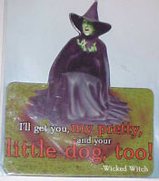 "Wizard of Oz ""Wicked Witch""3.5 X 2.5 inch Diecut Magnet"