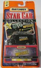 SURVEILLANCE VAN From MISSION IMPOSSIBLE ~ 1997 Matchbox Star Car DENTED BLISTER