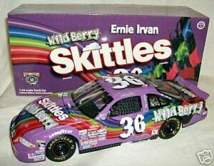 rcca 1/24 #36 WILD BERRY SKITTLES ERNIE IRVAN ELITE '98