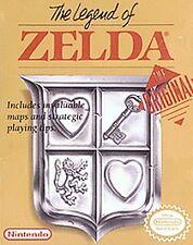 LEGEND OF ZELDA & LINK GREY NINTENDO GAMES ORIGINAL NES