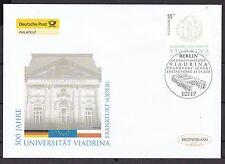 BRD 2006 Deutsche Post FDC MiNr. 2533 Universität Via-drina, Frankfurt Oder