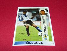 FRANCISCO JOSE ANTON HERCULES CF PANINI LIGA 96-97 ESPANA 1996-1997 FOOTBALL