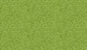 Makower Fabric village life Grass Fresh Green - 90cm REMNANT