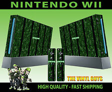 NINTENDO Wii Adesivo Matrix codice errore di sistema SKIN e 2 SKIN PER PAD