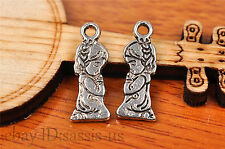 20pcs 18*7mm Charm lovers angel girl Diy Jewelry Bead Making For Bracelet 7204