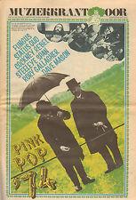MUZIEKKRANT OOR 1974/PINK POP EDITIE - STATUS QUO/RORY GALLAGHER/FUNGUS