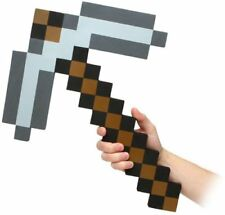 "*NEW* Full Size 18"" 'Think Geek' 'Minecraft Foam Iron Pickaxe' Pick Axe :)"