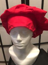 Chef Works Hat Red One Size Fits Most