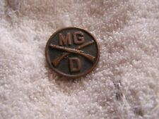Antique Military Pin MG D