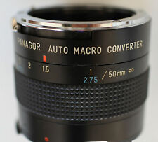 Adapateur macro 1/1 Panagor pour 50mm variation douce  Nikon AI