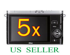 5x Clear LCD Screen Protector Guard Cover Film For Nikon 1 J3 Digital Camera