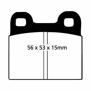 NSU RO 80 1.0 Brake Pads Set Front 67 to 77 KKM TRW Genuine Quality Replacement
