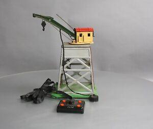Lionel 165 Vintage O Operating Gantry Crane with Electromagnet