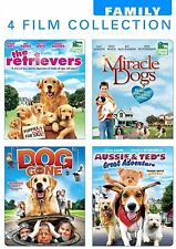 The Retrievers, Miracle Dogs, Dog Gone, Aussie & Ted's Great Adventure (DVD)