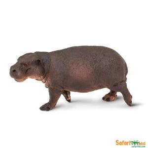 Safari ltd 229229 Pygmy Hippopotamus 8 CM Wild Animals Novelty 2018