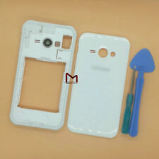 For Samsung Galaxy J1 Ace SM-J110 White Housing Middle Frame Battery Cover