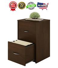 File Cabinet 2 Drawer Storage Document Holder Organizer Office Northfield Alder