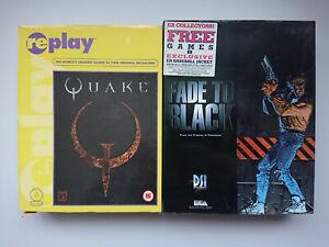 Quake 1 & Fade to Black - PC Big Box Game Bundle