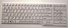 New for Fujitsu Lifebook A544 AH544 AH564 laptop US Keyboard white CP653013-03
