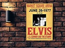 Elvis Presley  Concert Poster Wall Art Print 21.81 inches x 31.16 inches NEW