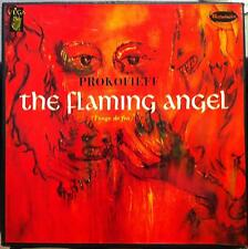 CHARLES BRUCK prokofieff the flaming angel 3 LP VG+ OPW 1304 Vinyl  Record