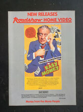 Roadshow Home Video New Release FLIER rare Australian VHS shop ephemera