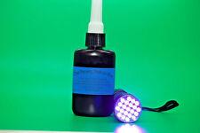 50g Resina Colla UV Spesso per le Montaggio di Mosca + 21 LED Torcia UV
