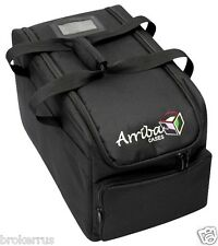 "Arriba AC-412 PADDED Gear CASE 22.5""x12.5""x12.5"" Light DJ Equipment Storage Bag"