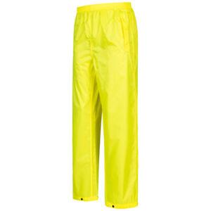 Regatta Pro Pack Away Herren wasserdichte Regen Überziehhose TRW348-0M0 gelb neu