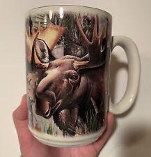 Moose Camo American Expedition Coffee Mug Cup