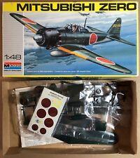 MONOGRAM 5222 - MITSUBISHI ZERO - 1/48 PLASTIC KIT