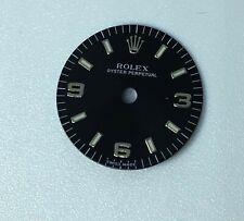 Rolex Oyster Perpetual 31mm Midsize Dial Black Color Arabic Numerals 76080