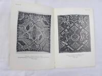 Vintage Persian Embroideries Guide Book Booklet Victoria Albert Museum 1920s