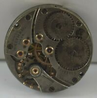 Vintage Waltham Mechanical Watch Movement For Parts & Repair Work M-10022