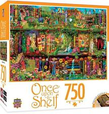 MASTERPIECES ONCE UPON-A-SHELF PUZZLE MYSTICAL GARDEN AIMEE STEWART 750 #31619