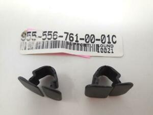 QTY 2 NEW Porsche OEM Cayenne Hood Insulation Pad Clip 9555567610001C SHIP TODAY