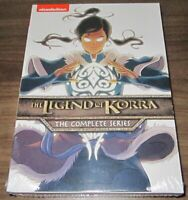 The Legend of Korra: The Complete Series (DVD, 2016, 8-Disc Set) .. sealed new