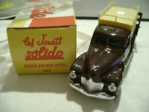 DODGE PALACE HOTEL 1940  1/43 SOLIDO  REF 897