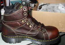 Dr. Martens R12721200  Teak Ironbridge St Work Boots - New With Box