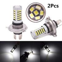 Pair 4-Side H4 9003 HB2 Hi/Lo Beam Car Headlight DRL Fog Lamp Driving Light Bulb