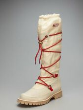 HUNTER SHOES SUMMIT WATERPROOF BOOTS IVORY 9 $295 SUMT1016
