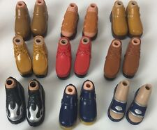 BRATZ Boy Boyz Doll Shoes Boots Feet 9 Pairs Assorted + Bonus 3 New Girl Prs Lot