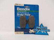 Bendix Motorcycle Brake Pads Yamaha XV 535 XV535 1987-1994 Virago Front FA136