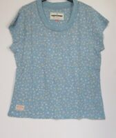 New Brakeburn Blue Floral Print Summer Holiday T Shirt - Size 10 - 18